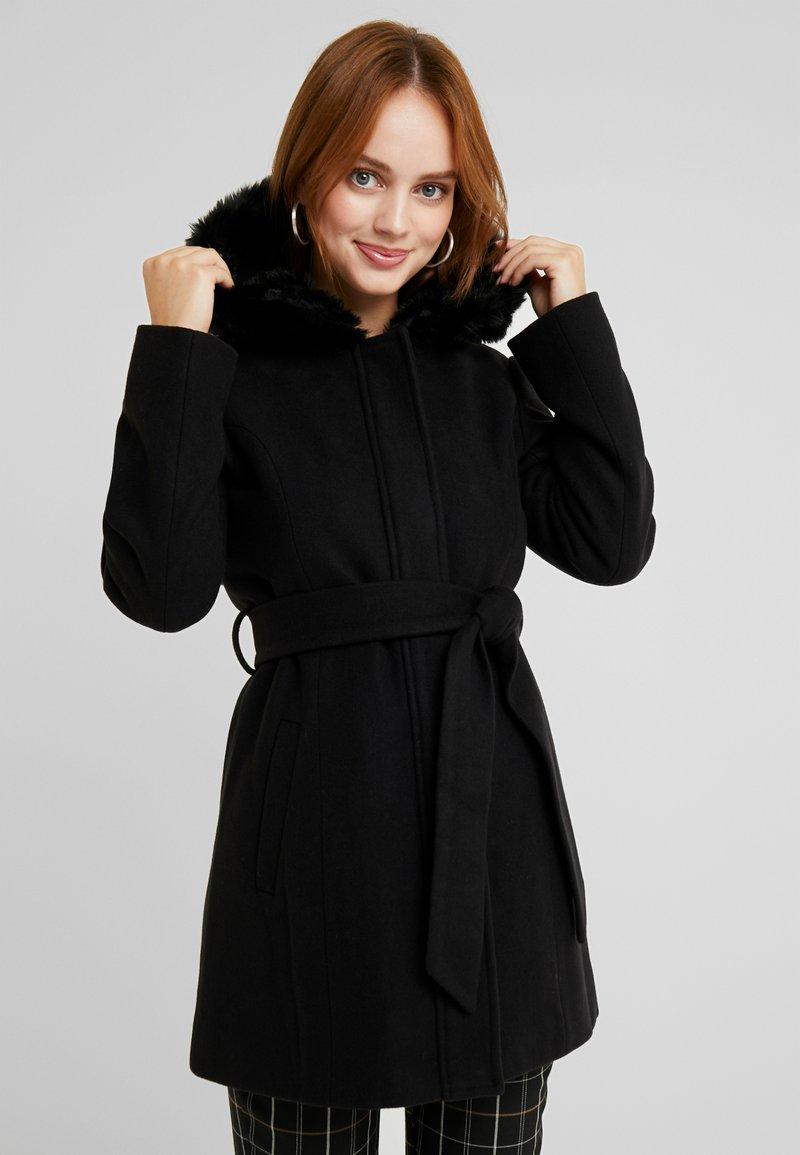 Anna Field Petite - Zimní kabát - black