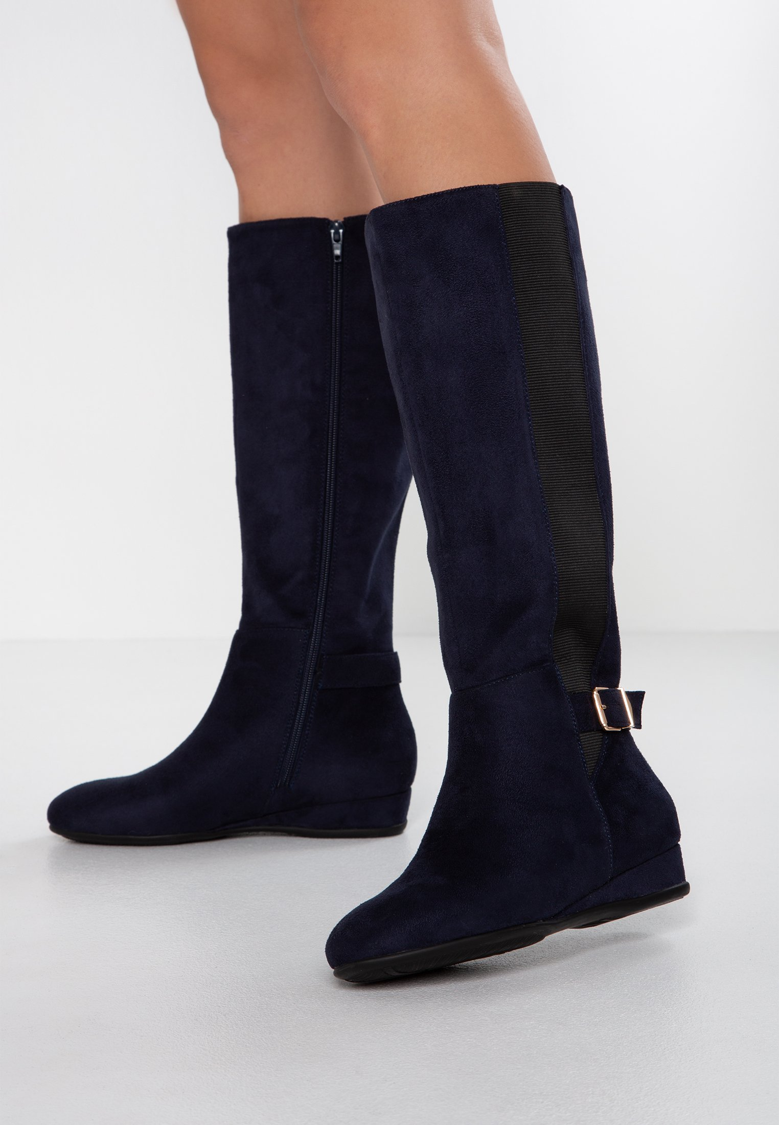 Field Fit Bottes CompenséesDark Anna Blue Wide QWerdBxoC