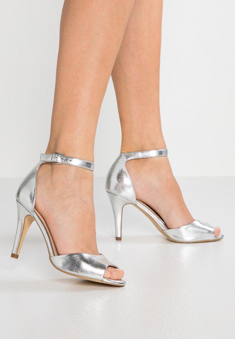 Anna Field Wide Fit - Højhælede sandaletter / Højhælede sandaler - silver