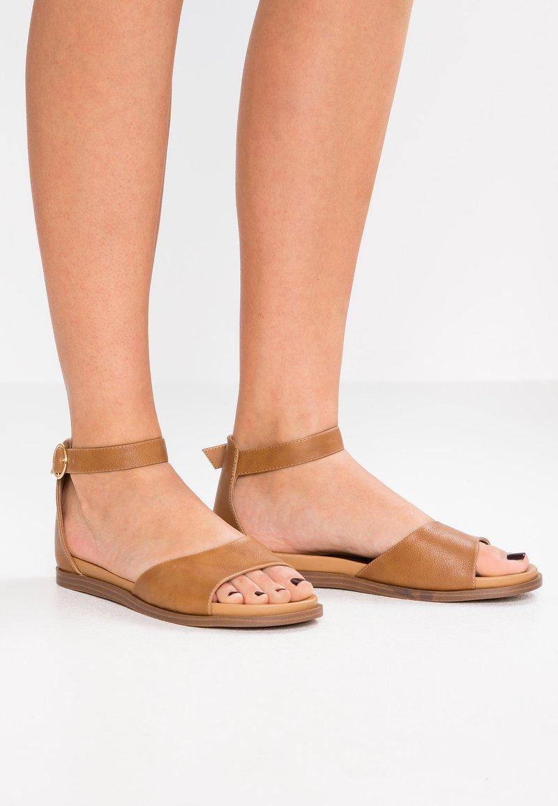 Anna Field Wide Fit - Sandals - cognac
