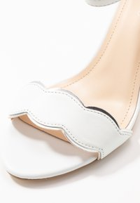 Anna Field Wide Fit - LEATHER - High heeled sandals - white - 2