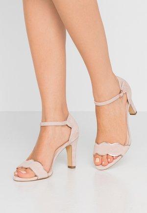 LEATHER - Korolliset sandaalit - rose