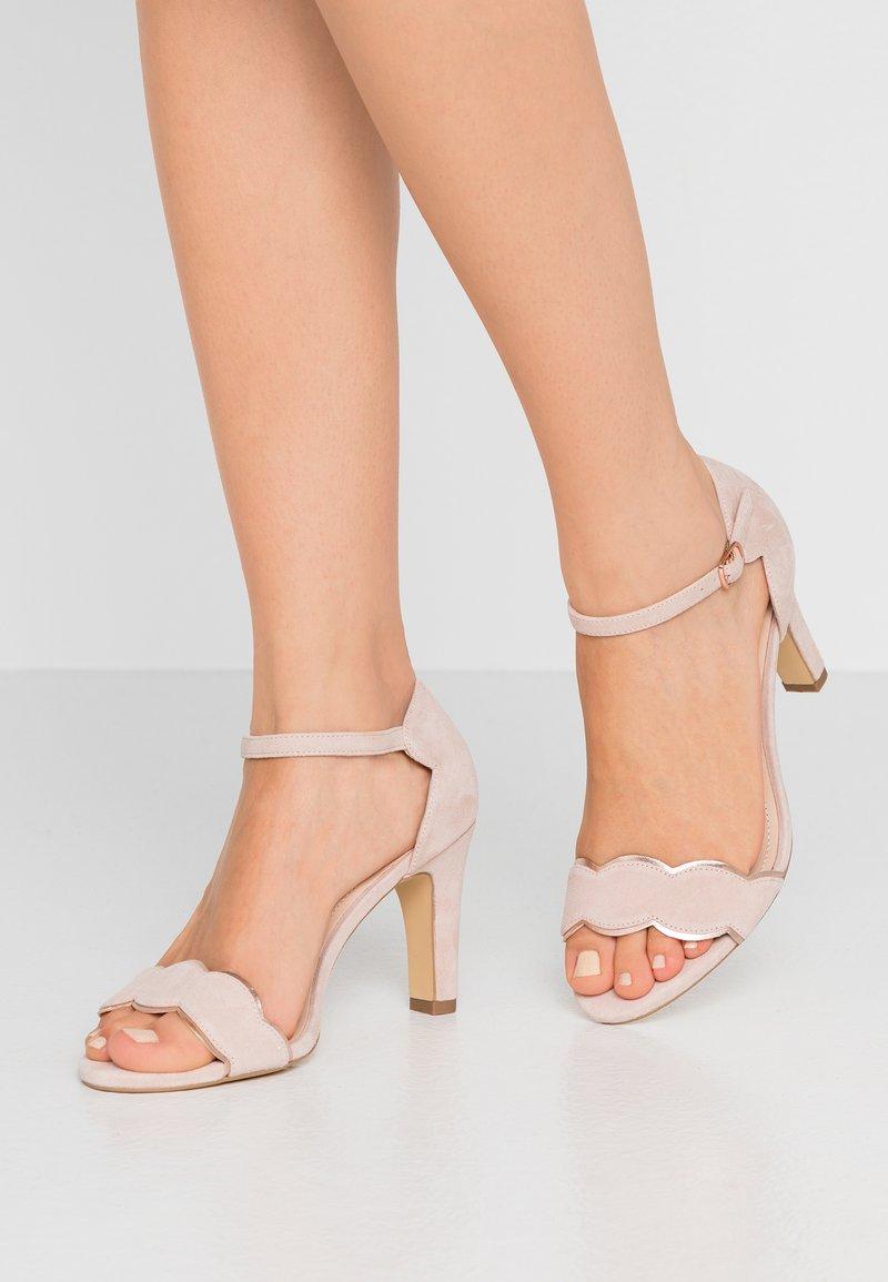 Anna Field Wide Fit - LEATHER - Korolliset sandaalit - rose