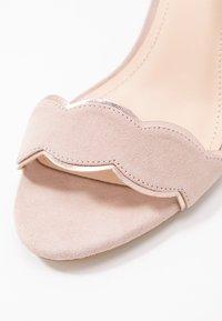 Anna Field Wide Fit - LEATHER - Korolliset sandaalit - rose - 2