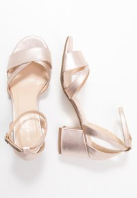 Anna Field Wide Fit - LEATHER - Sandals - rose gold - 3