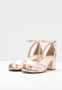 Anna Field Wide Fit - LEATHER - Sandals - rose gold - 4