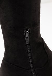 Anna Field Wide Fit - Ylipolvensaappaat - black - 2