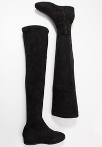 Anna Field Wide Fit - Ylipolvensaappaat - black - 3