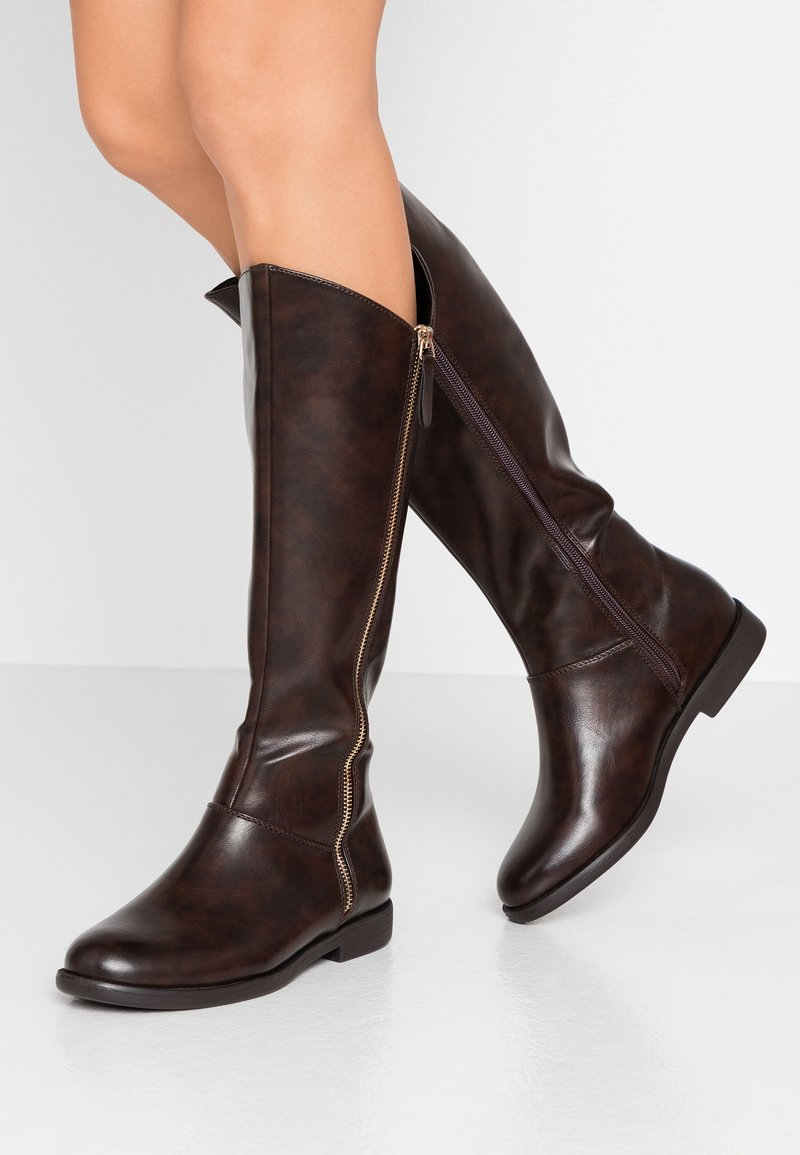 Anna Field Wide Fit - Boots - brown