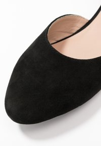 Anna Field Wide Fit - LEATHER ANKLE STRAP BALLET PUMPS - Ankle strap ballet pumps - black - 2