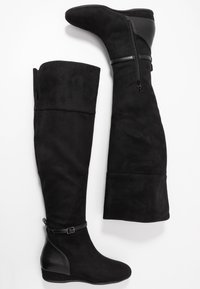 Anna Field Wide Fit - Over-the-knee boots - black - 3