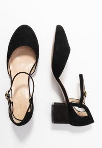 Anna Field Wide Fit - LEATHER PUMPS - Klassieke pumps - black - 3