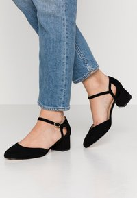 Anna Field Wide Fit - LEATHER PUMPS - Klassieke pumps - black - 0