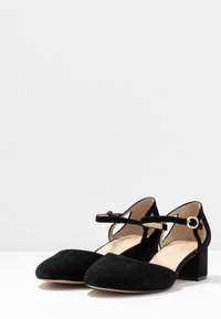 Anna Field Wide Fit - LEATHER PUMPS - Klassieke pumps - black - 4