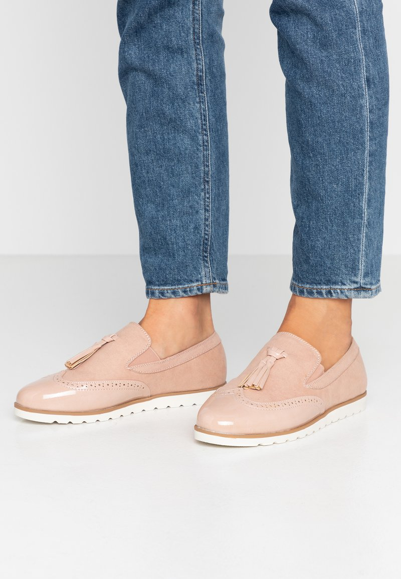 Anna Field Wide Fit - Loafers - nude