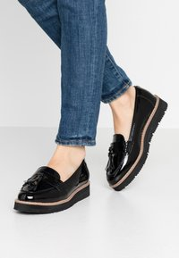 Anna Field Wide Fit - Slip-ons - black - 0