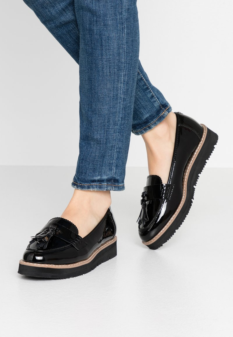 Anna Field Wide Fit - Slip-ons - black