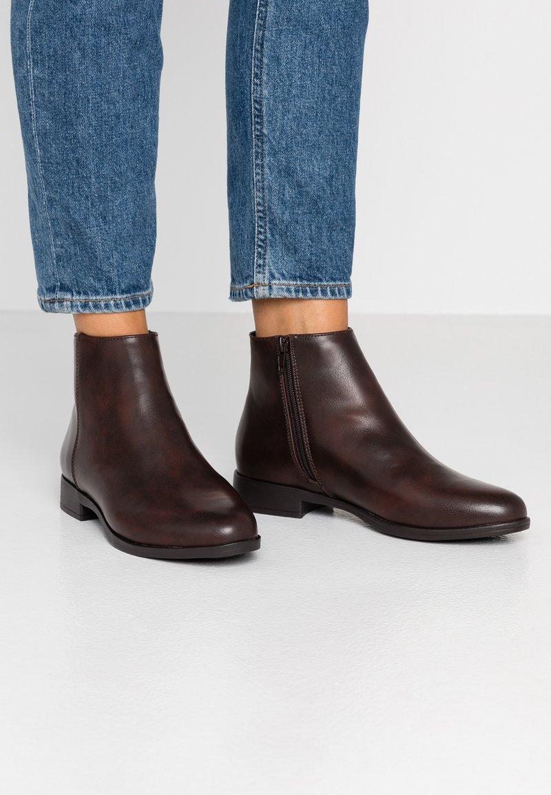 Anna Field Wide Fit - Ankelstøvler - brown