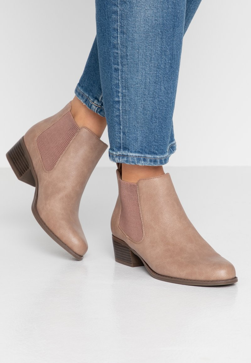 Anna Field Wide Fit - Ankle boots - rose