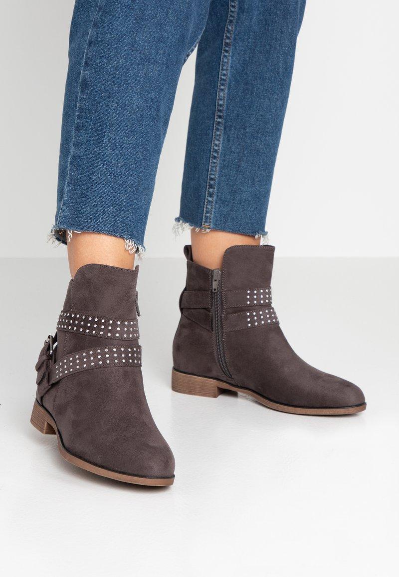 Anna Field Wide Fit - Kotníkové boty - grey