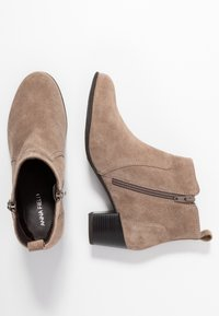 Anna Field Wide Fit - LEATHER BOOTIES - Ankle boot - taupe - 3