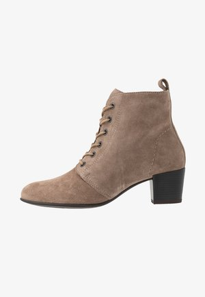LEATHER BOOTIES  - Ankelboots - taupe