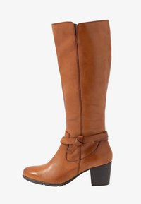 Anna Field Wide Fit - LEATHER BOOTS  - Boots - cognac - 1