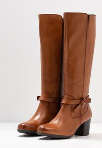 Anna Field Wide Fit - LEATHER BOOTS  - Boots - cognac - 4