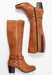Anna Field Wide Fit - LEATHER BOOTS  - Boots - cognac - 3