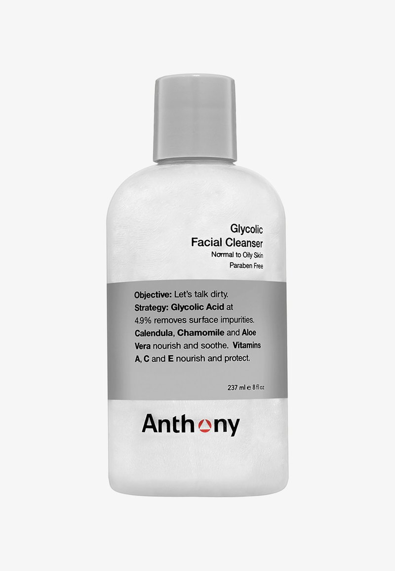 Anthony - GLYCOLIC FACIAL CLEANSER 237ML - Nettoyant visage - -