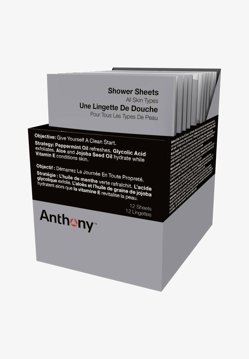 Anthony - SHOWER SHEETS NEW 12 SHEETS - Gel douche - -
