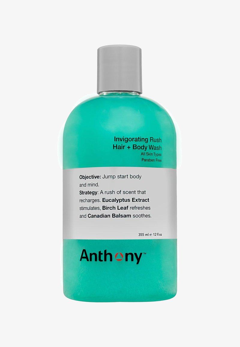 Anthony - INVIGORATING RUSH HAIR & BODY WASH 355ML - Shampoing - -