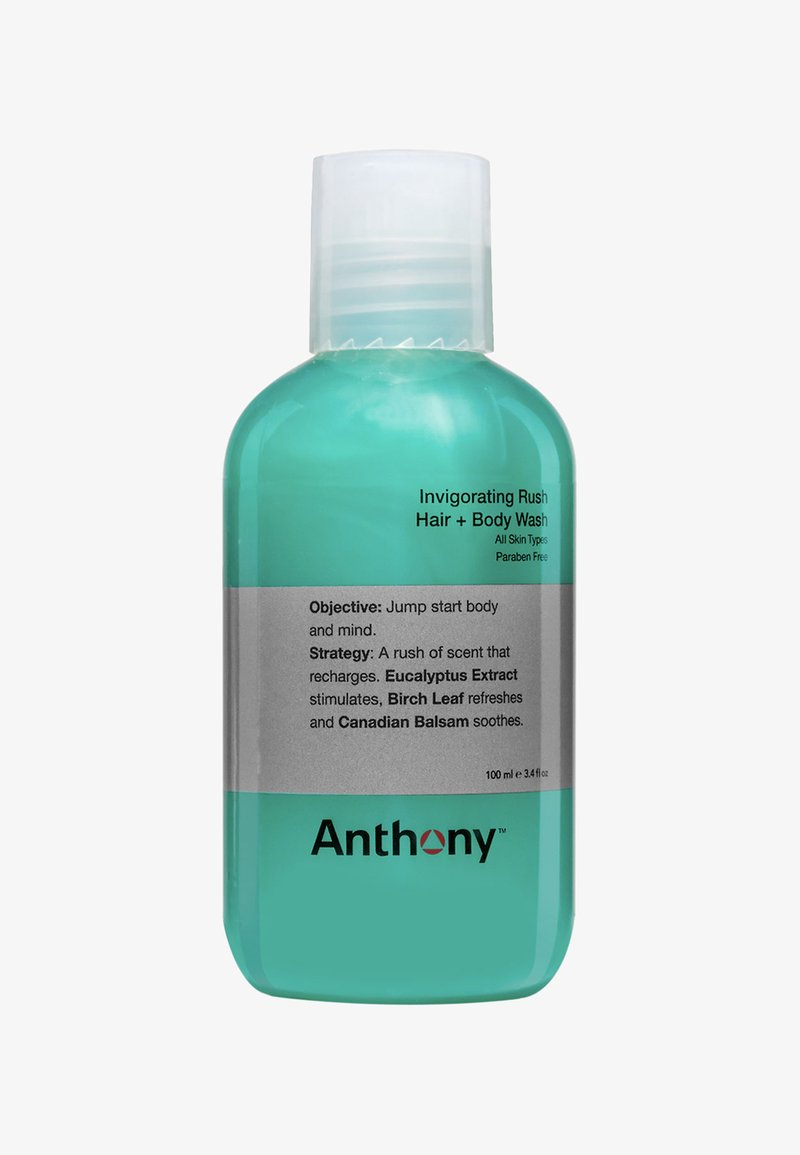 Anthony - INVIGORATING RUSH HAIR + BODY WASH 100ML - Szampon - -