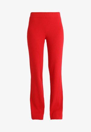 MORGAN PANTS - Pantalones - chinese red
