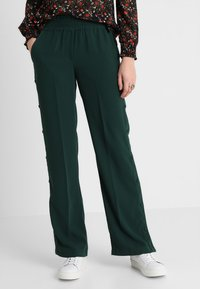 Another-Label - GARDEN PANTS - Kalhoty - pine grove - 0