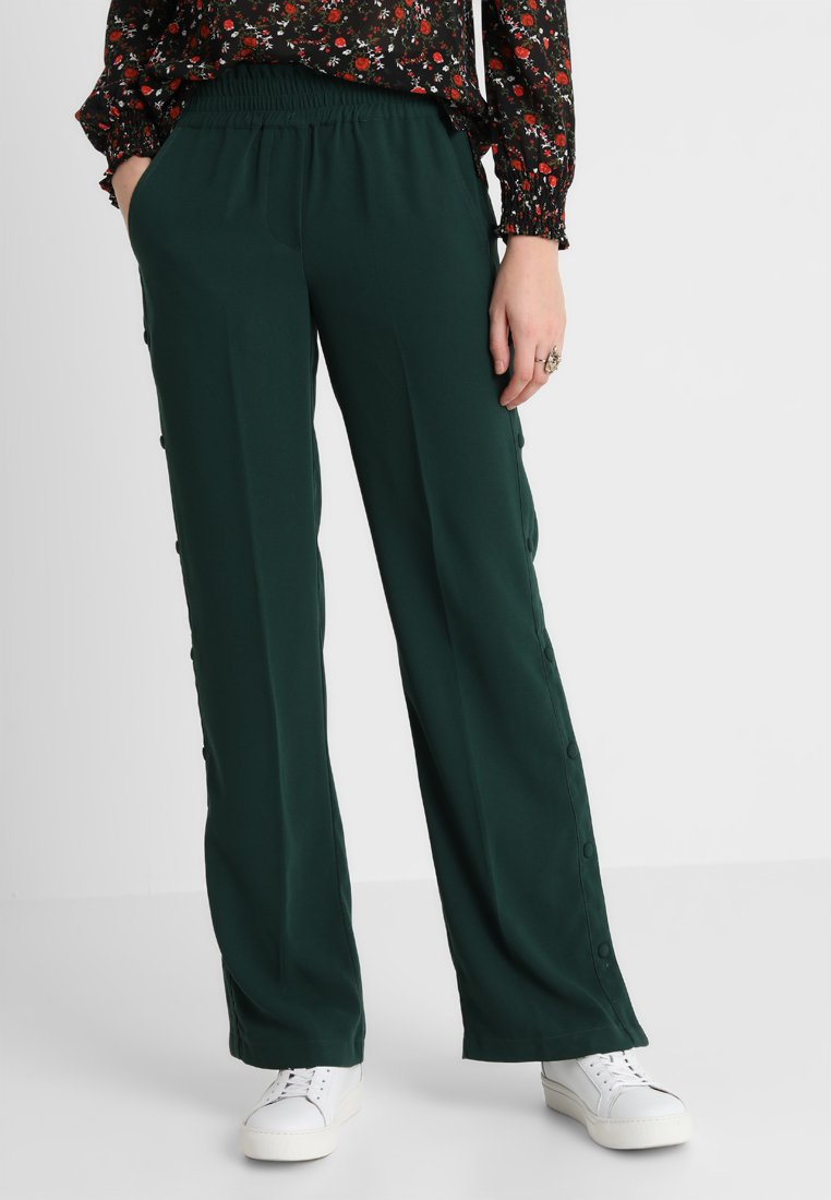Another-Label - GARDEN PANTS - Kalhoty - pine grove