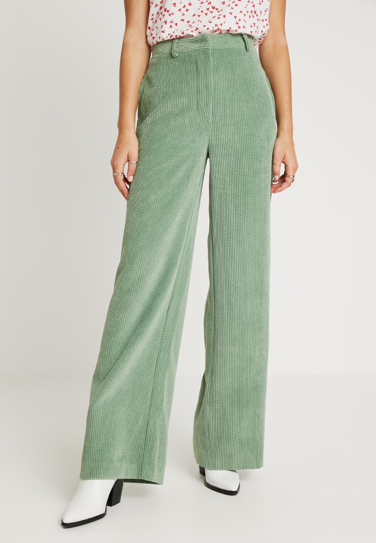 Another-Label - RANDOLPHY PANTS - Trousers - comfrey