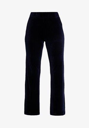 RIVOLI PANTS - Spodnie materiałowe - black iris