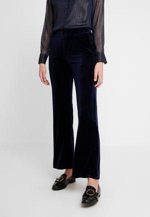 RIVOLI PANTS - Trousers - black iris