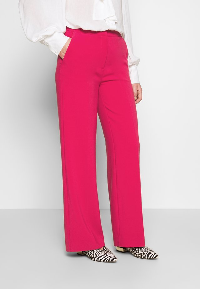 MOORE PANTS - Tygbyxor - persian red