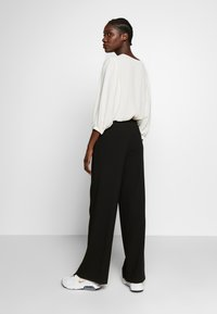 Another-Label - MOORE PANTS - Kalhoty - black - 2