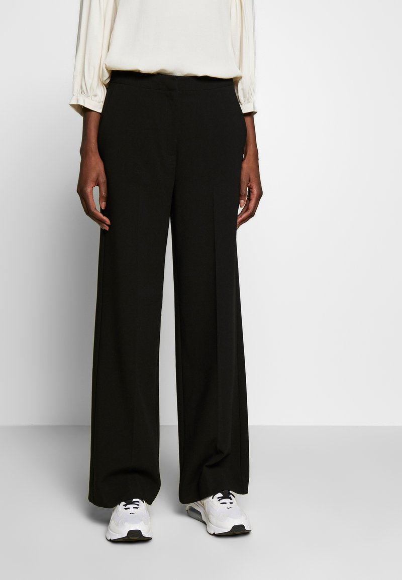 Another-Label - MOORE PANTS - Kalhoty - black