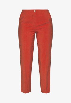 AURELIE PANTS - Pantaloni - burned orange