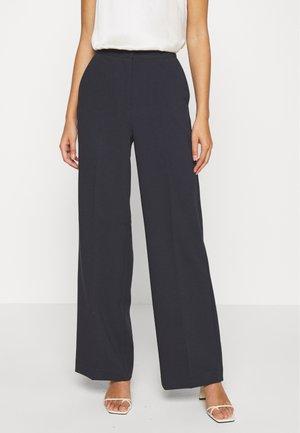 MOORE PANTS - Trousers - black iris