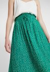 Another-Label - KNAPP SKIRT - Jupe longue - jolly green