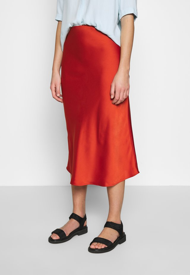 ARLEEN SKIRT - Gonna a tubino - burned orange