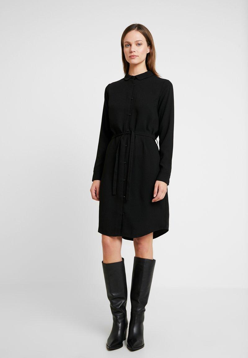 Another-Label - PECK DRESS - Shirt dress - black