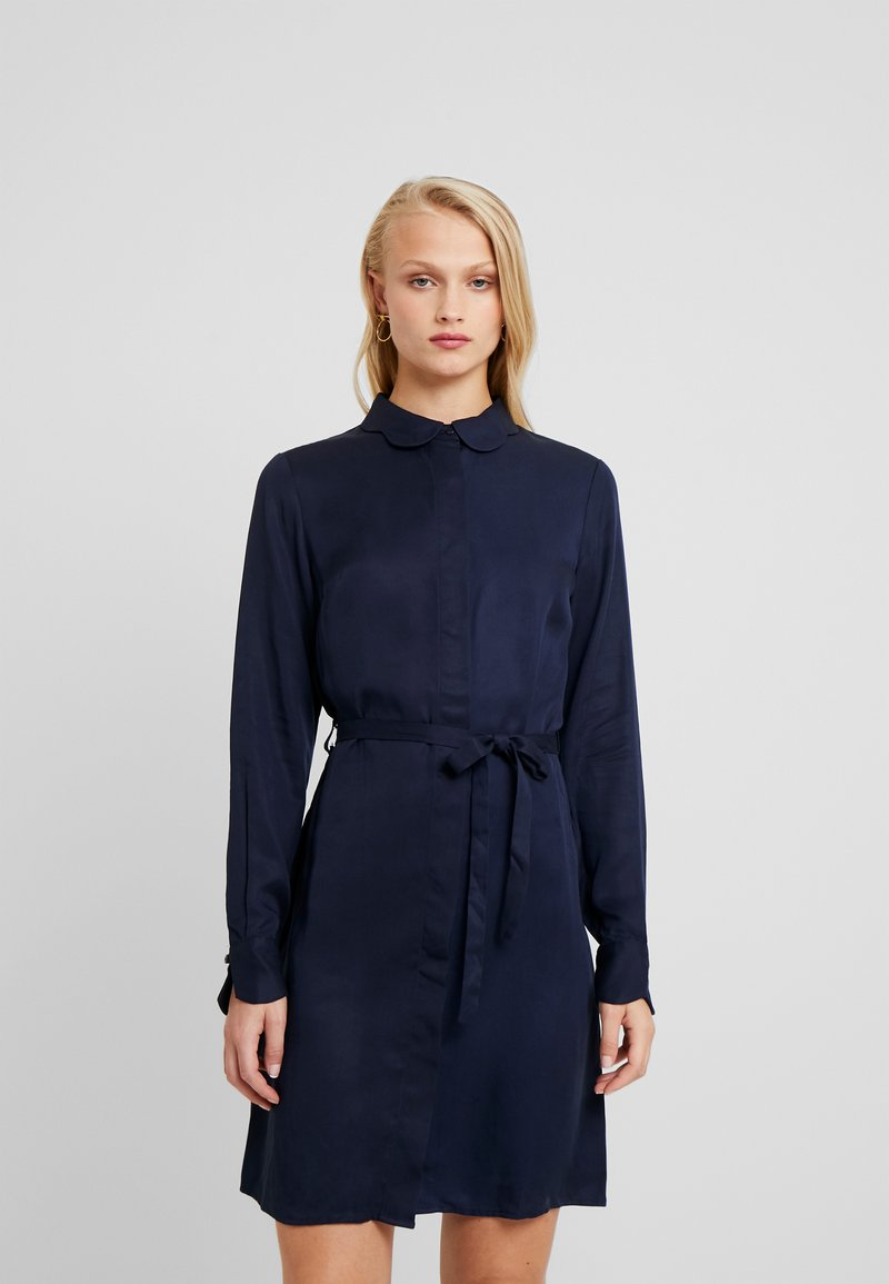 Another-Label - PERI DRESS - Shirt dress - black iris