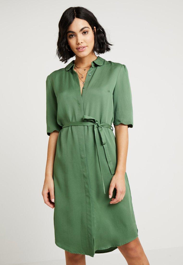Another-Label - RYAWA DRESS - Shirt dress - comfrey