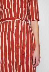 Another-Label - SORBONNE DRESS - Blousejurk - burned orange - 5